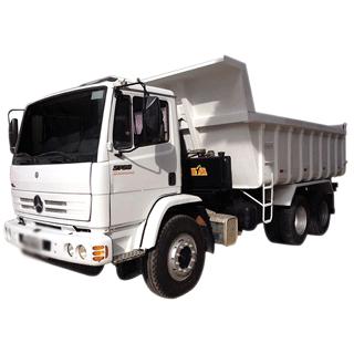 caminhão-caçamba